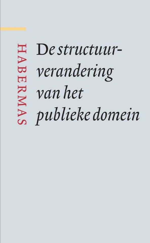 De structuurverandering van het publieke domein