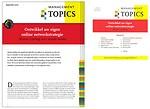 Ontwikkel uw eigen online netwerkstrategie (Management Topics)