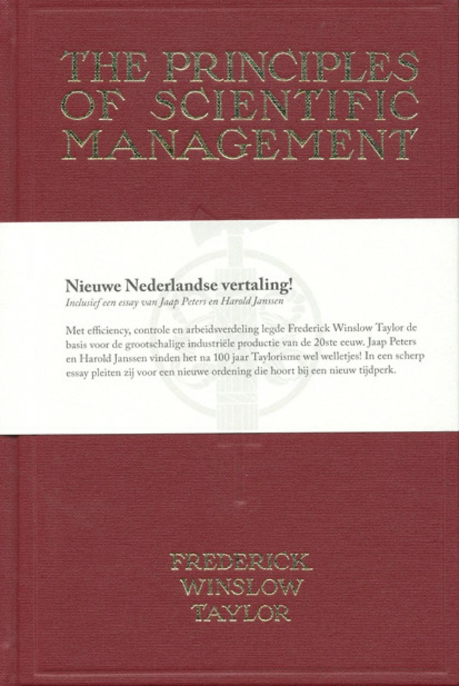 The Principles of Scientific Management - Nieuwe Nederlandse vertaling!