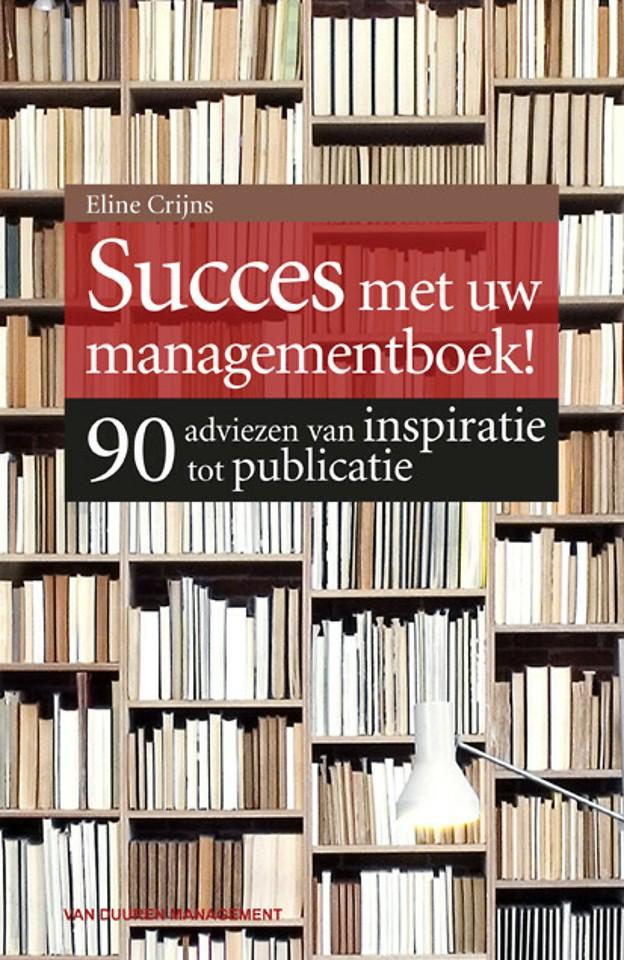 Succes met uw managementboek!