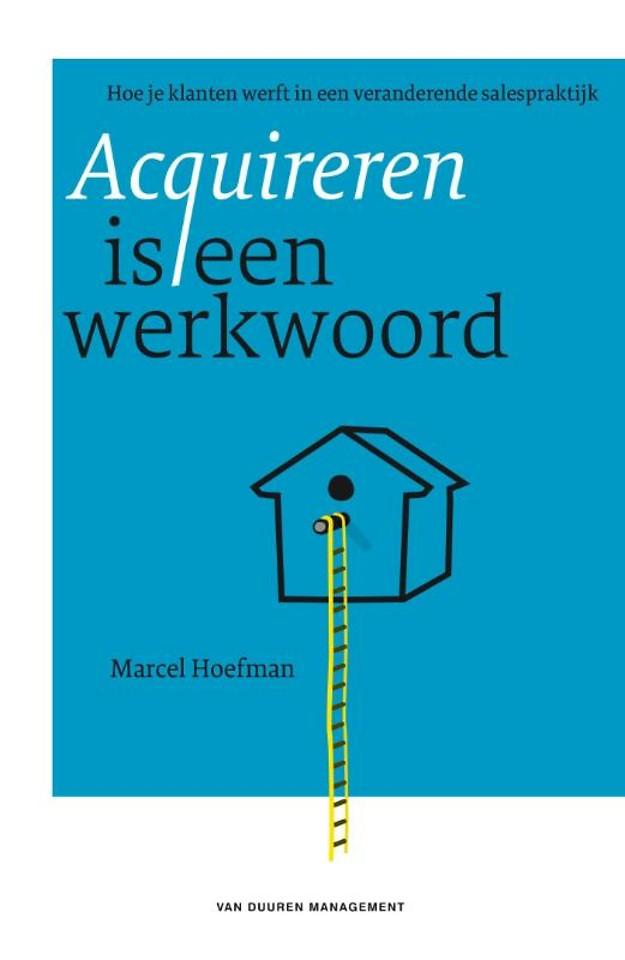 Acquireren is een werkwoord