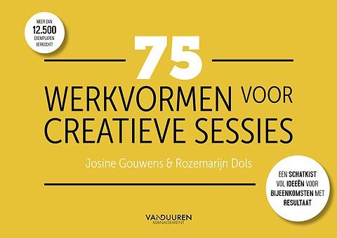 Betere 75 werkvormen voor creatieve sessies door Josine Gouwens GI-23
