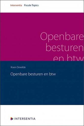 Openbare besturen en BTW
