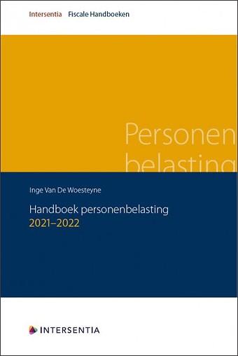 Handboek personenbelasting 2021-2022