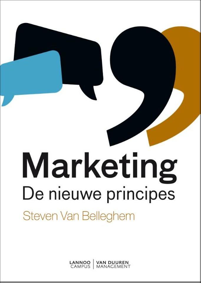 Marketing - De nieuwe principes