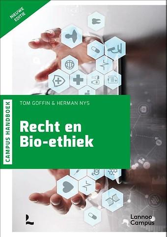 Handboek Recht en bio-ethiek (herwerking)