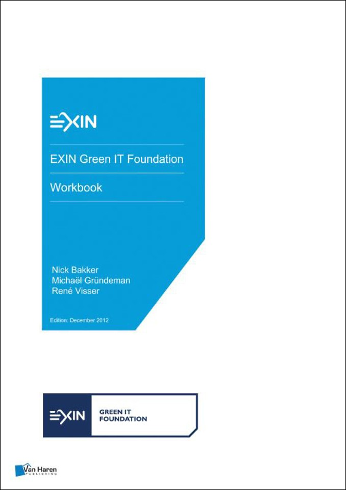 EXIN Green IT Foundation - Workbook
