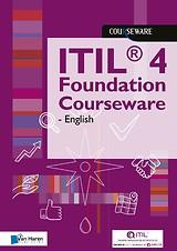 Kaft van e-book ITIL 4 Foundation Courseware