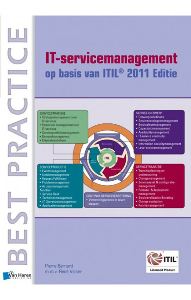 IT-servicemanagement op basis van ITIL 2011 Editie