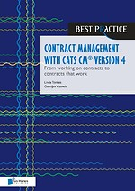 Contract management with CATS CM® version 4
