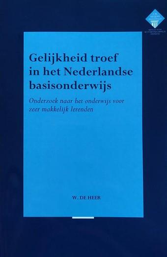 Gelijkheid troef in het Nederlandse basisonderwijs