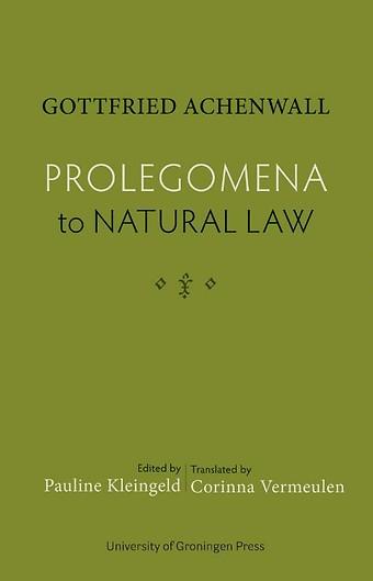 Prolegomena to Natural Law