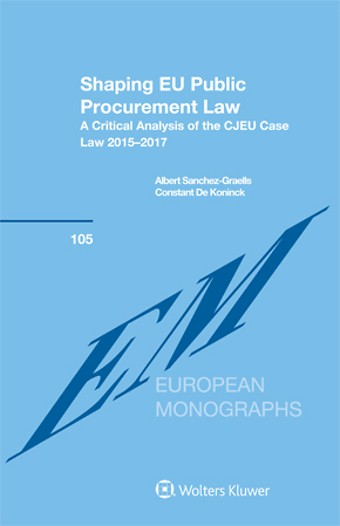 Shaping EU Public Procurement Law