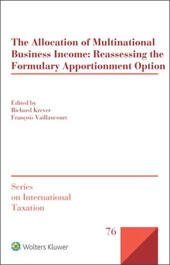The Allocation of Multinational Business Income
