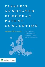 Visser's Annotated European Patent Convention