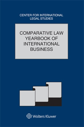 Comparative Law Yearbook International Business