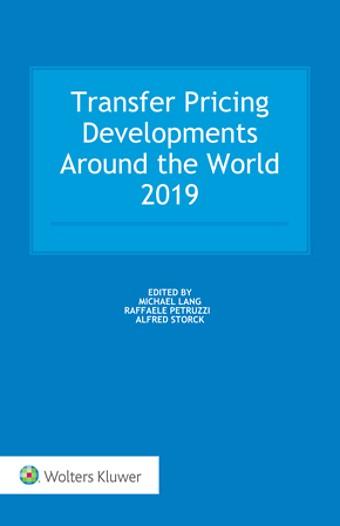 Transfer Pricing Developments Around the World 2019