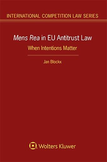 Mens Rea in EU Antitrust Law