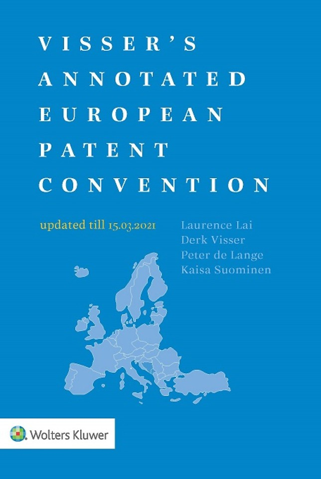 Visser's Annotated European Patent Convention - 2021 edition