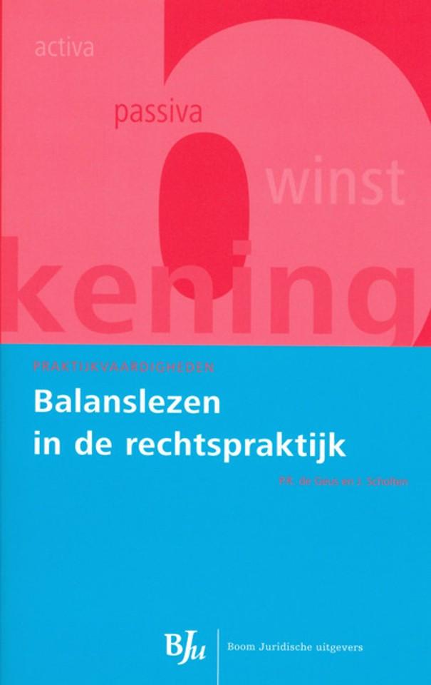 Balanslezen in de rechtspraktijk