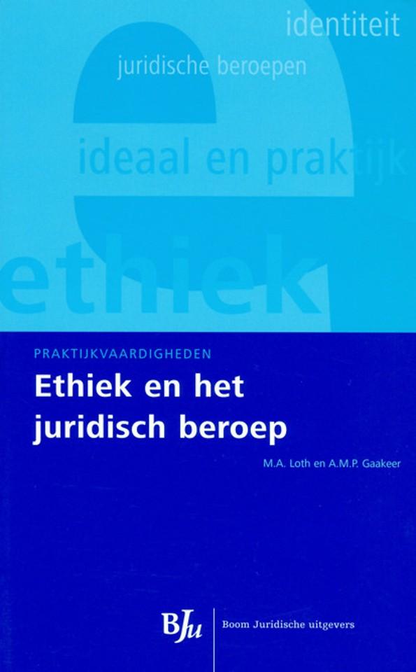 Ethiek en het juridische beroep