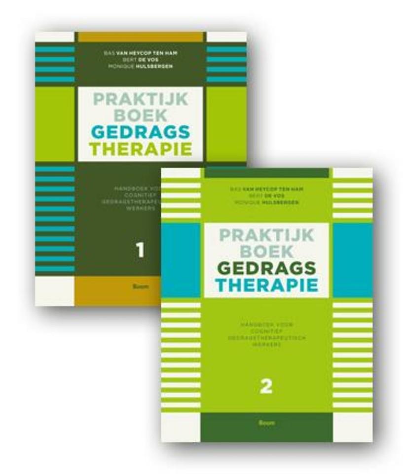 Praktijkboek gedragstherapie SET: deel 1 en 2 - Handboek voor cognitief gedragstherapeutisch werkers