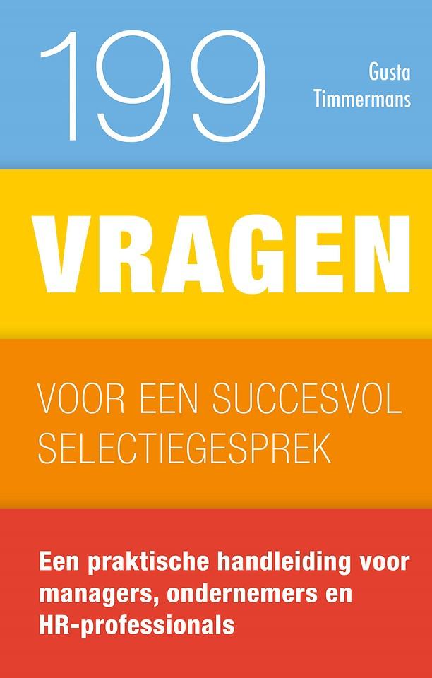 199 vragen voor een succesvol selectiegesprek