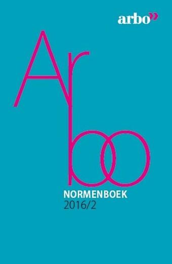 Arbonormenboek 2016-2