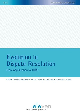 Evolution in Dispute Resolution