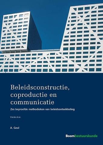 Beleidsconstructie, coproductie en communicatie