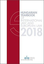 Hungarian Yearbook of International and European Law 2018