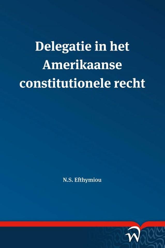Delegatie in het Amerikaanse constitutionele recht