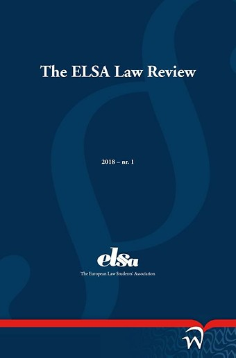 The ELSA Law Review