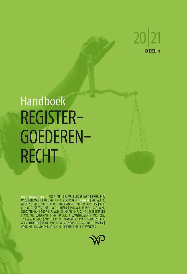 Handboek Registergoederenrecht 2020-2021