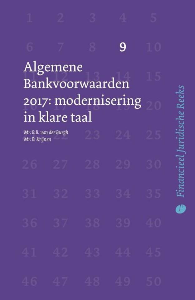 Algemene Bankvoorwaarden 2017: modernisering in klare taal