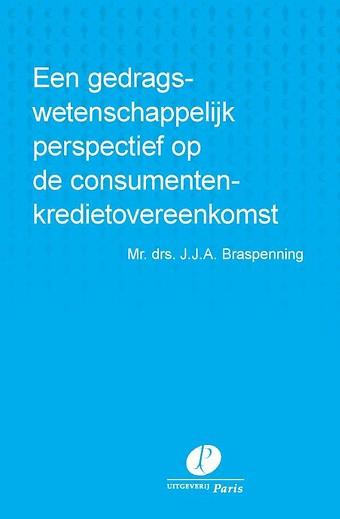 Een gedragswetenschappelijk perspectief op de consumentenkredietovereenkomst