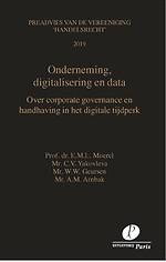Onderneming, digitalisering en data
