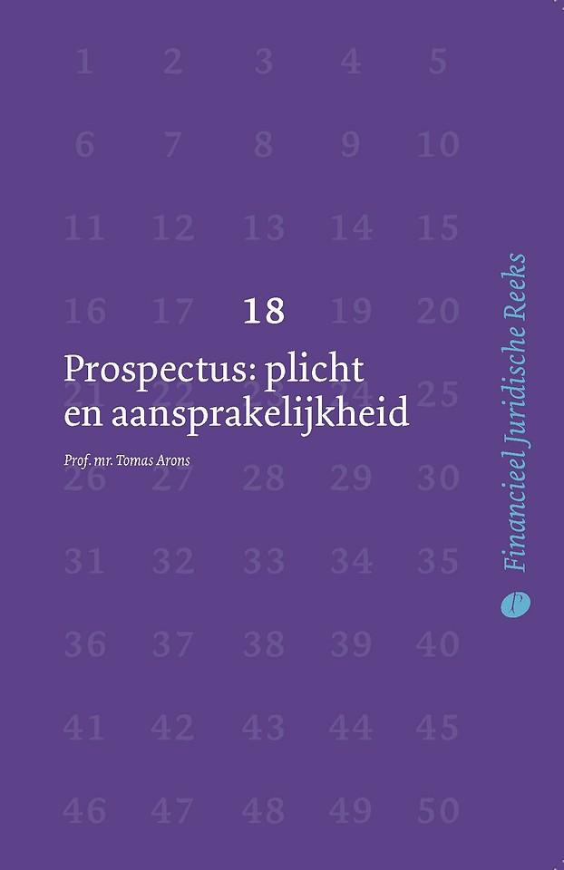 Prospectus: plicht en aansprakelijkheid
