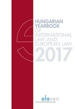 Hungarian Yearbook of International Law and European Law 2017