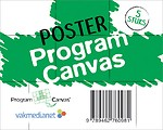 Poster Program Canvas