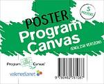 Poster Program Canvas