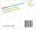 Poster Waardepropositie Canvas/Poster The Value Proposition Canvas