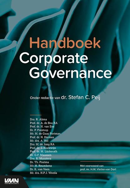 Omslag Handboek Corporate Governance