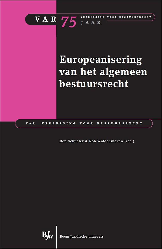 Europeanisering van het algemeen bestuursrecht