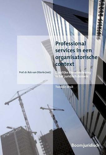 Professional services in een organisatorische context