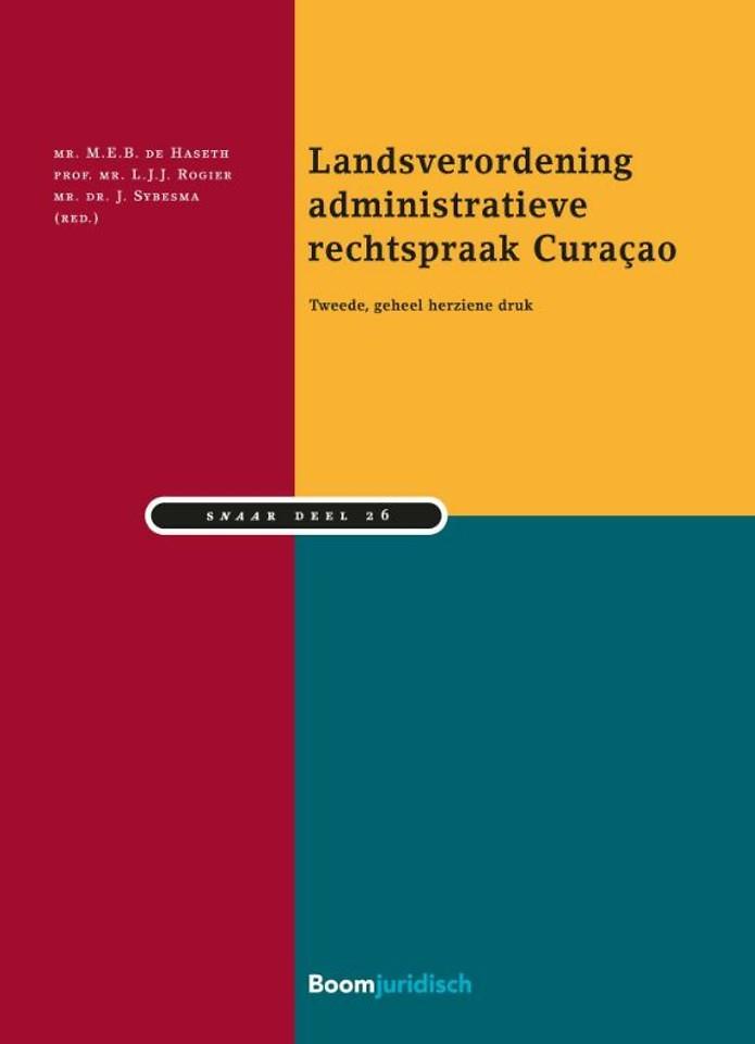 Landsverordening administratieve rechtspraak Curaçao