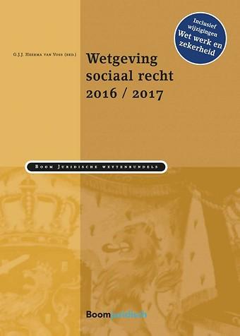 Wetgeving sociaal recht 2016/2017