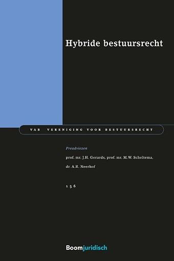 Hybride bestuursrecht