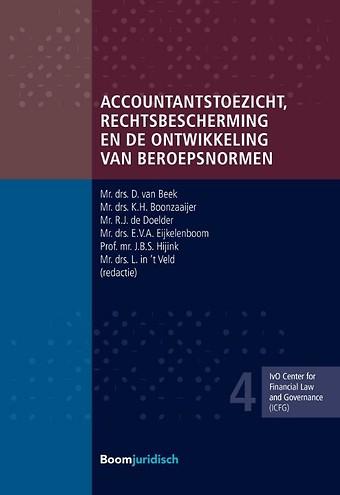 Accountantstoezicht, rechtsbescherming en de ontwikkeling van beroepsnormen