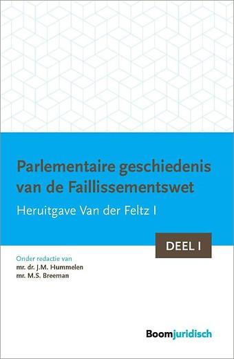 Parlementaire geschiedenis van de Faillissementswet (2 delen)